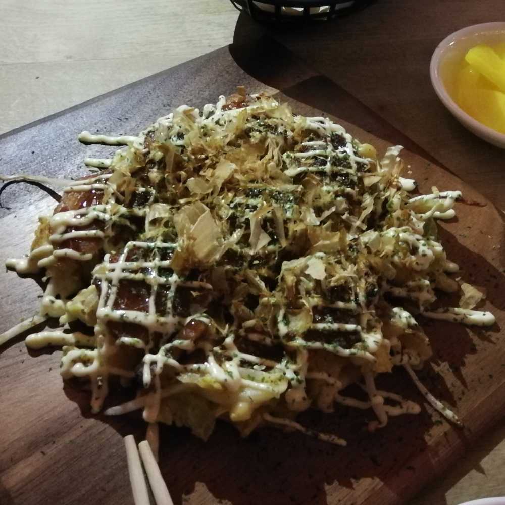 Japanese pizza